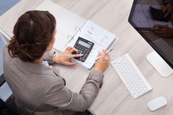 女性 会計士 表示 小さな ビジネス ストックフォト © AndreyPopov