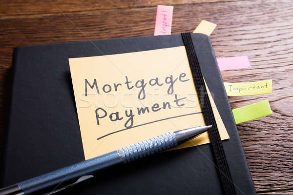 Concept Of A Mortgage Payment Stock photo © AndreyPopov