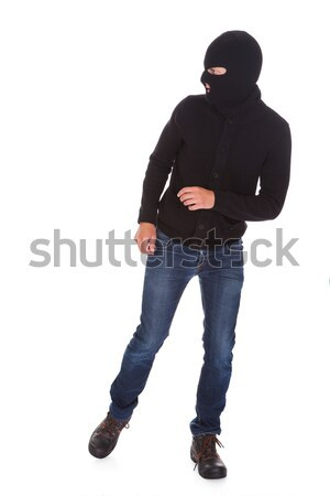 Portrait Of A Burglar Stock photo © AndreyPopov
