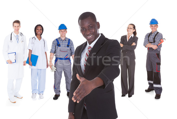 People With Different Occupations Stock photo © AndreyPopov