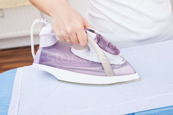 Person Ironing Clothes Stock photo © AndreyPopov
