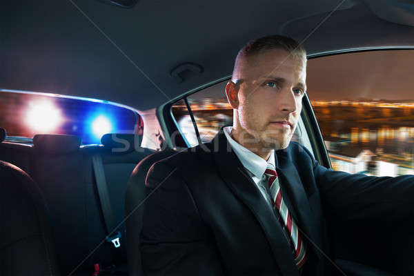 Man Chased And Pulled Over By Police Stock photo © AndreyPopov