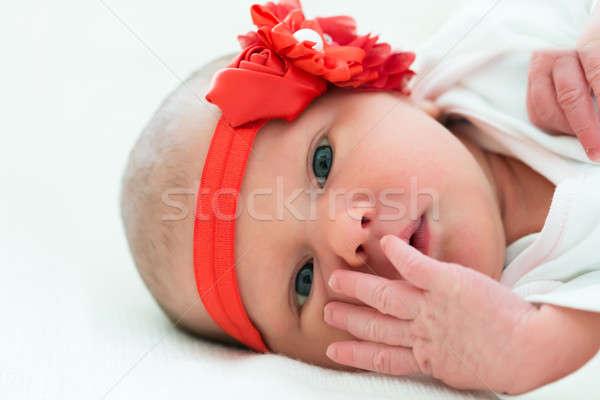 Baby Wearing Headband Stock photo © AndreyPopov