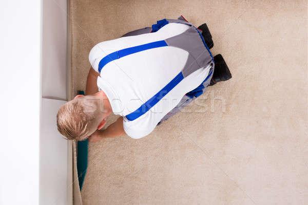 職人 カーペット 階 表示 ストックフォト © AndreyPopov