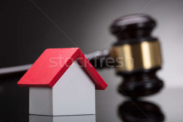 Close-up Of A House Model Stock photo © AndreyPopov