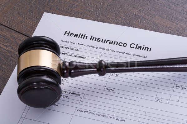 Health insurance claim Stock photo © AndreyPopov