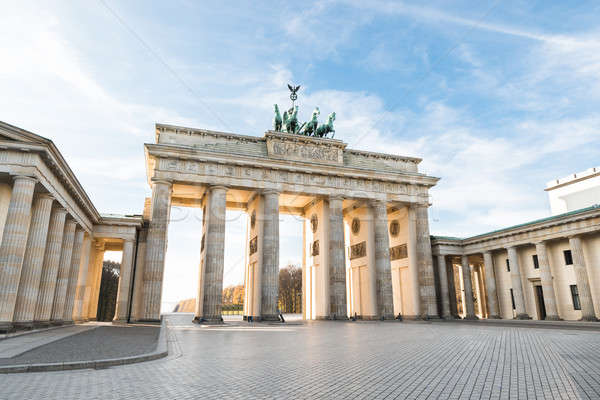 Brandenburger Tor In Berlin Stock photo © AndreyPopov