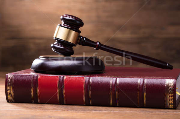 Juiz gabela lei livro Foto stock © AndreyPopov