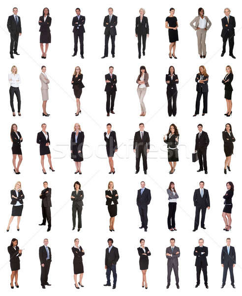 Group Of Multi Ethnic Business People Stock photo © AndreyPopov