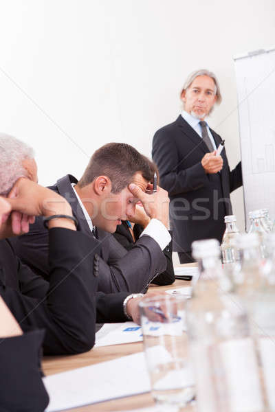 Portrait Of Sad Business Team Stock photo © AndreyPopov