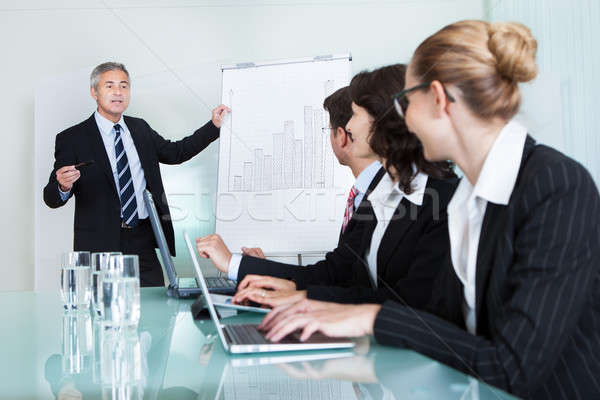 In-house business training Stock photo © AndreyPopov