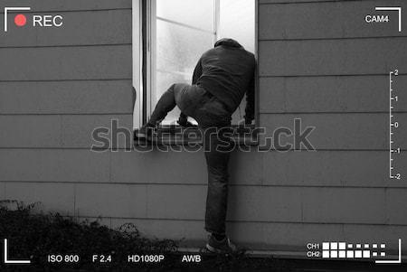 Infelice imprenditore ufficio ritratto seduta piano Foto d'archivio © AndreyPopov