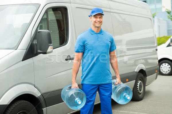 Zdjęcia stock: Dwa · wody · butelek · stałego