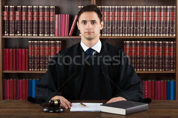 Portrait Of Confident Judge Stock photo © AndreyPopov