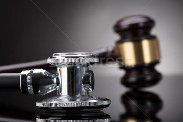 Close-up Of A Stethoscope Stock photo © AndreyPopov