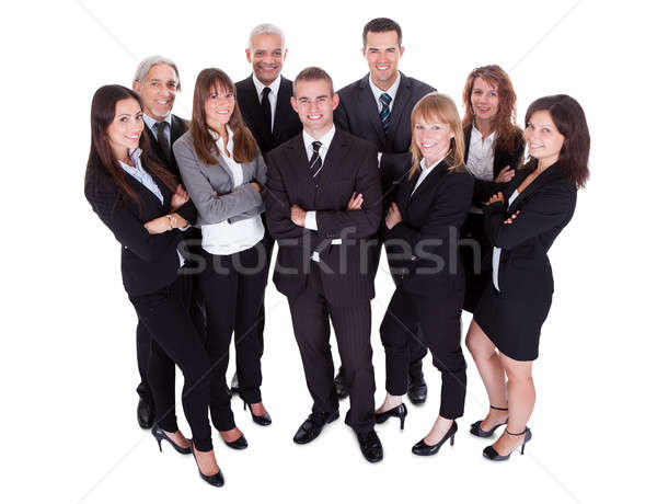 Lineup of business executives or partners Stock photo © AndreyPopov
