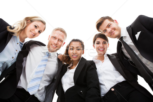 Low Angle Portrait Of Business People Stock photo © AndreyPopov