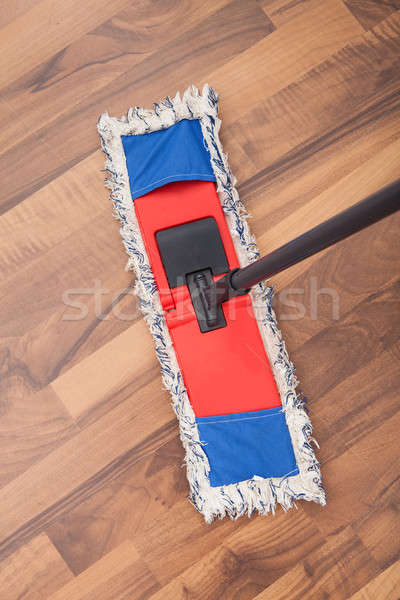 Mop On Hardwood Floor Stock photo © AndreyPopov