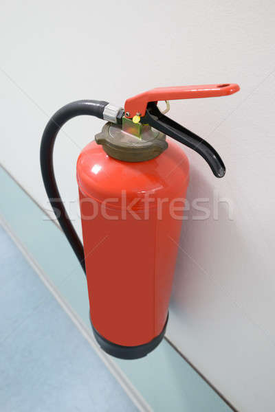 Close-up Of Fire Extinguisher Stock photo © AndreyPopov