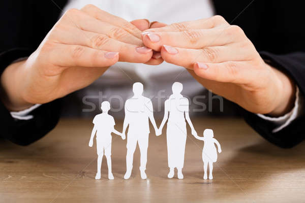 Saving Family Concept Stock photo © AndreyPopov