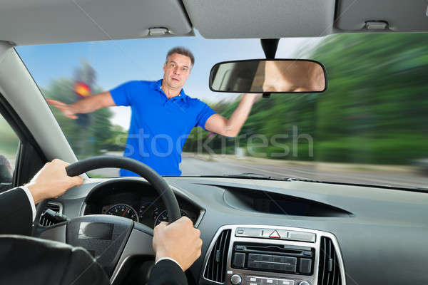 Car Accident On Road Stock photo © AndreyPopov