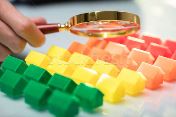 Businessperson Holding Magnifying Glass Stock photo © AndreyPopov