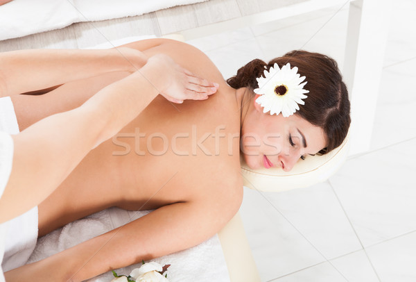 女性 マッサージ マッサージ師 表示 スパ ストックフォト © AndreyPopov