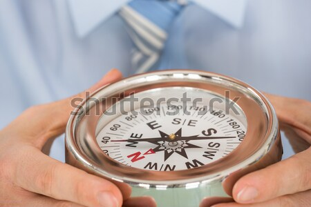 Doctor Checking Blood Pressure Of Patient Stock photo © AndreyPopov