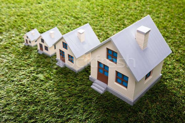 Increasing Houses Stock photo © AndreyPopov