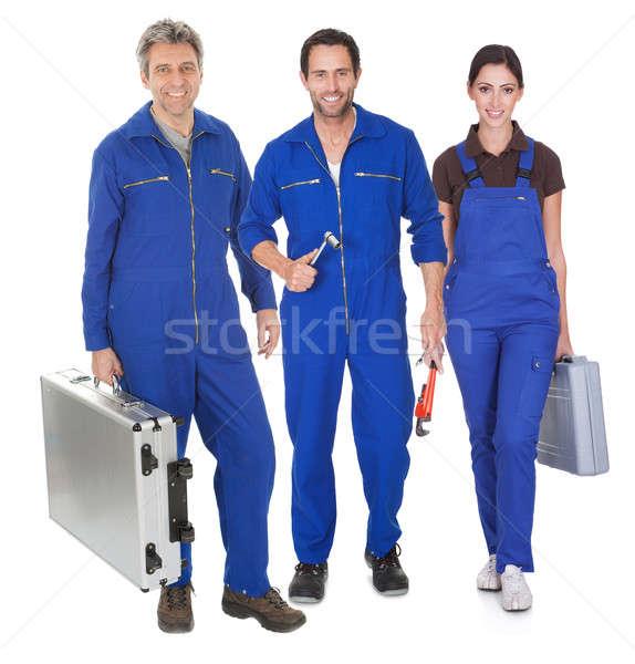 Group of automechanic Stock photo © AndreyPopov