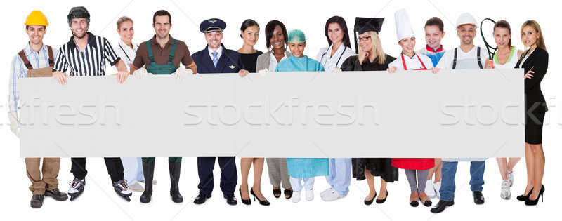Group of diverse professionals Stock photo © AndreyPopov
