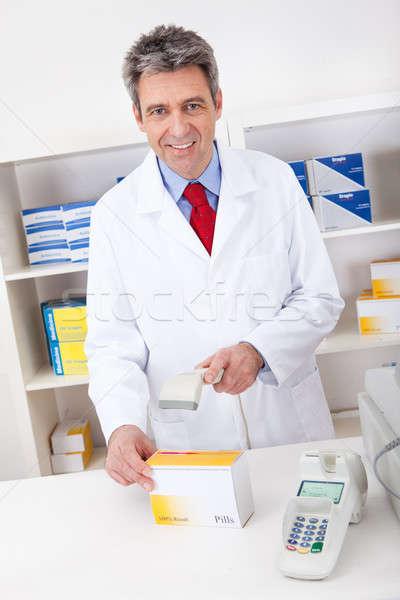 Buying medicine at pharmacy Stock photo © AndreyPopov