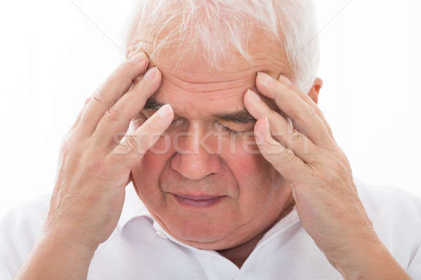 Man Suffering From Headache Stock photo © AndreyPopov