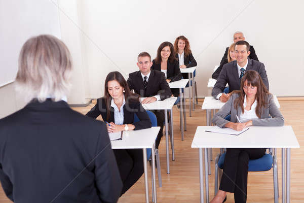 Portrait Of Business People At A Conference Stock photo © AndreyPopov