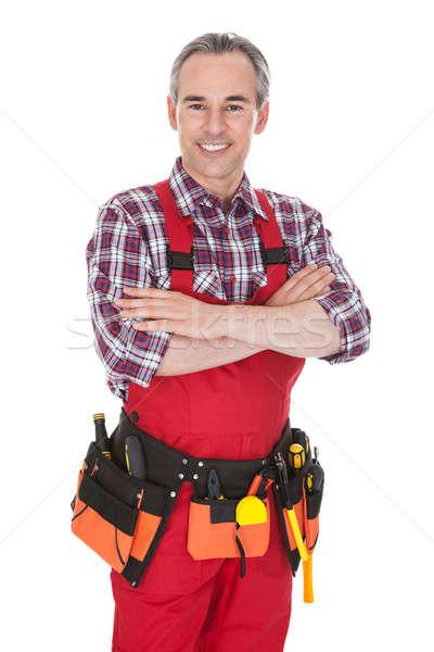 Portrait of technician worker Stock photo © AndreyPopov