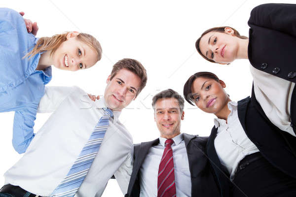 Businesspeople Looking Down Stock photo © AndreyPopov