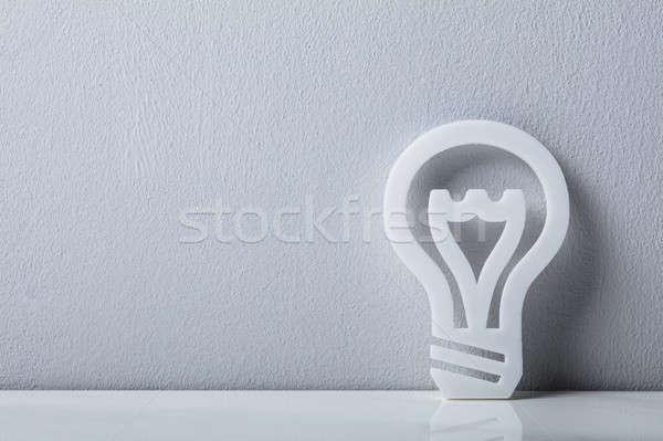 Stock photo: Close-up Of A Light Bulb