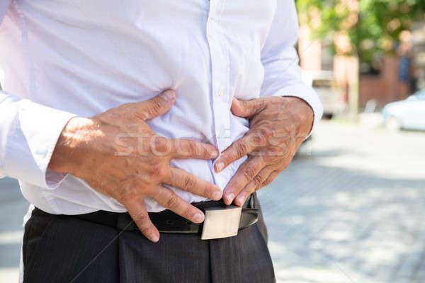 男 胃 痛み 表示 通り ストックフォト © AndreyPopov