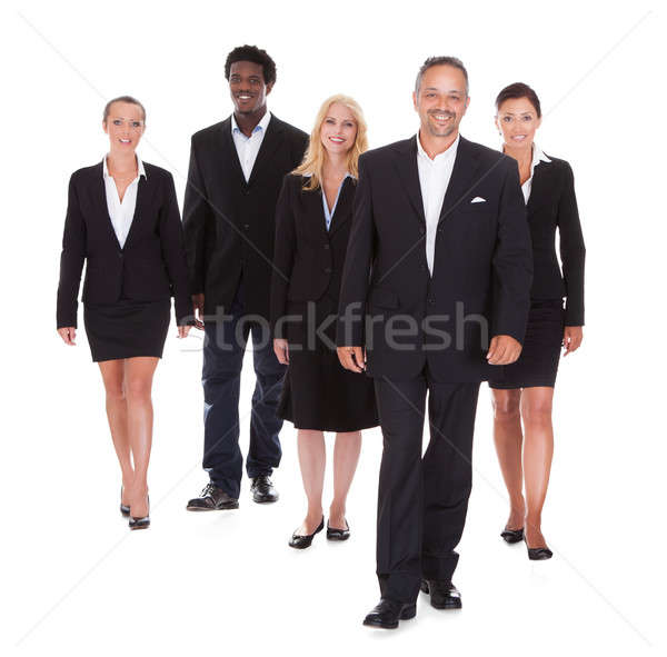 Multi-racial Group Of Business People Stock photo © AndreyPopov
