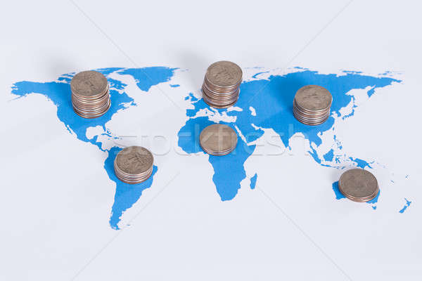 Global business concept Stock photo © AndreyPopov