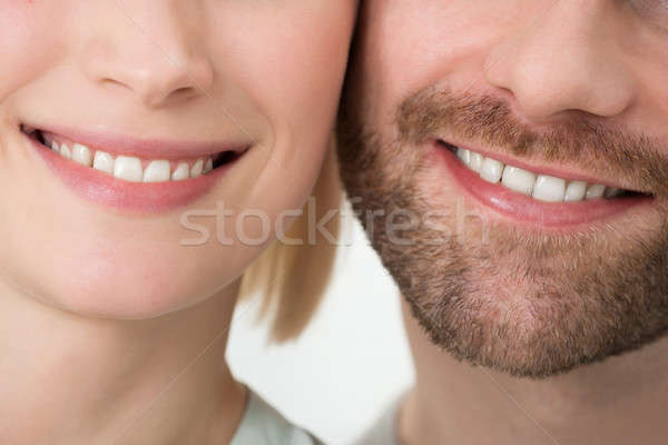 Smiling Young Couple Stock photo © AndreyPopov