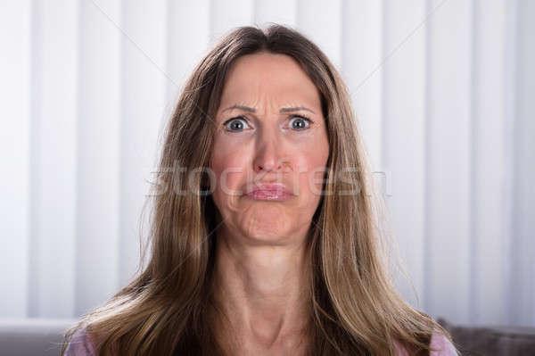 Portrait Of Sad Woman Stock photo © AndreyPopov