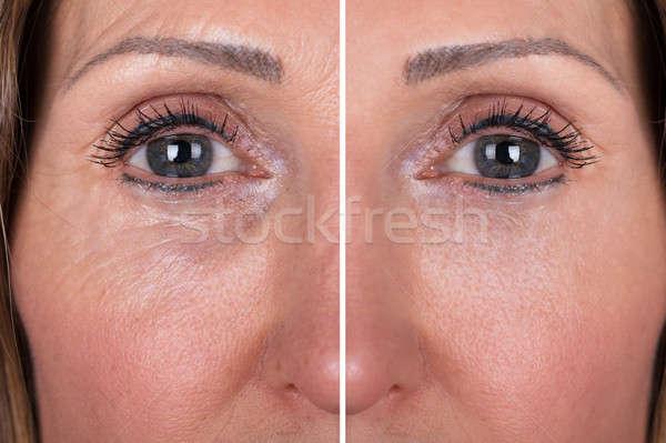 女性 写真 白人 女性の顔 眼 顔 ストックフォト © AndreyPopov