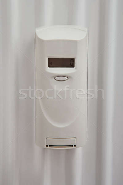 Digital Thermostat In Bathroom Stock photo © AndreyPopov