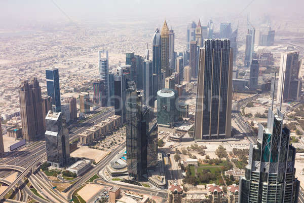 Skyscrapers In Dubai, UAE Stock photo © AndreyPopov