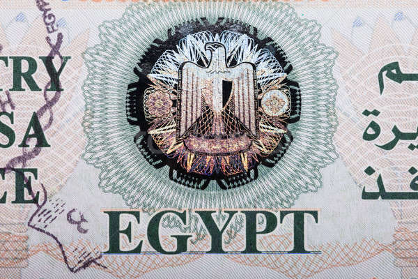 Египет визы мнение путешествия штампа Сток-фото © AndreyPopov
