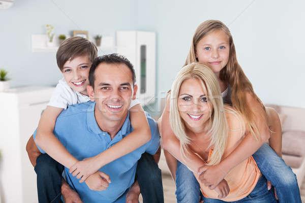 Portrait Of Happy Family Stock photo © AndreyPopov