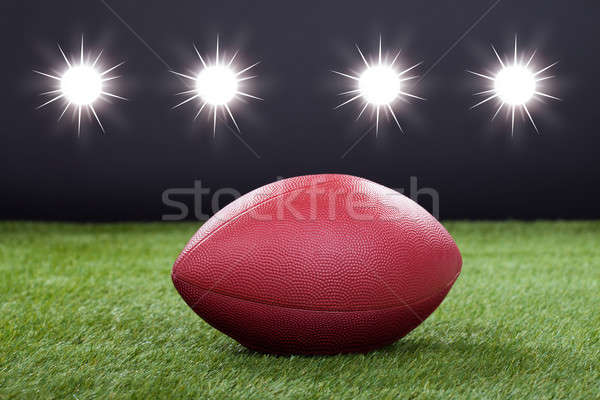 Red Rugby Ball Stock photo © AndreyPopov