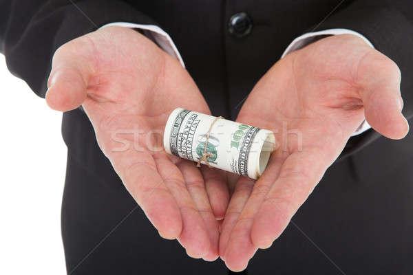 рук бизнеса деньги Сток-фото © AndreyPopov