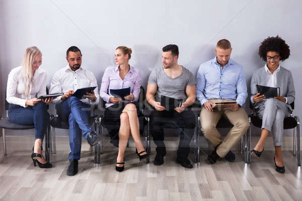Candidates Waiting For Job Interview Stock photo © AndreyPopov